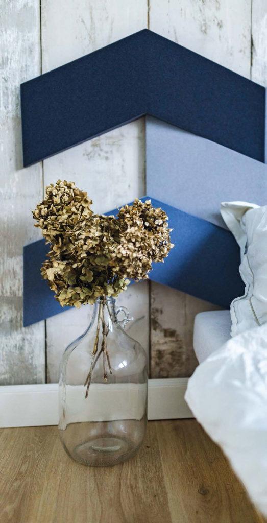 złote hortensje DIY
