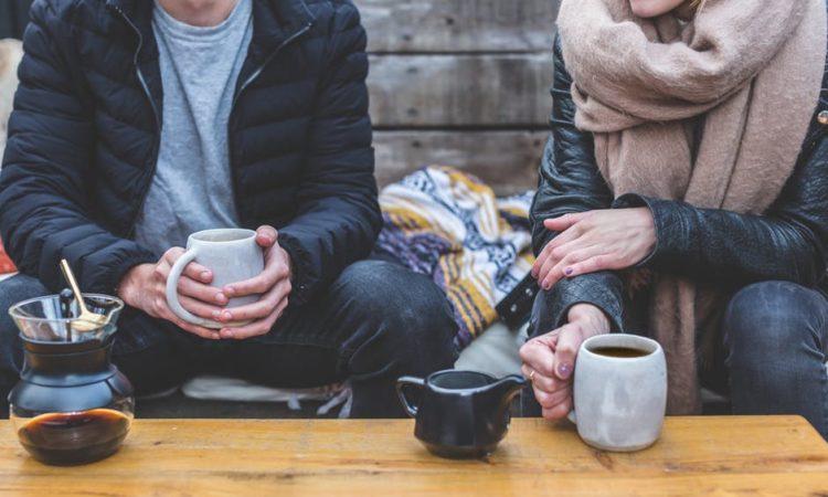 zimowa herbata i kawa