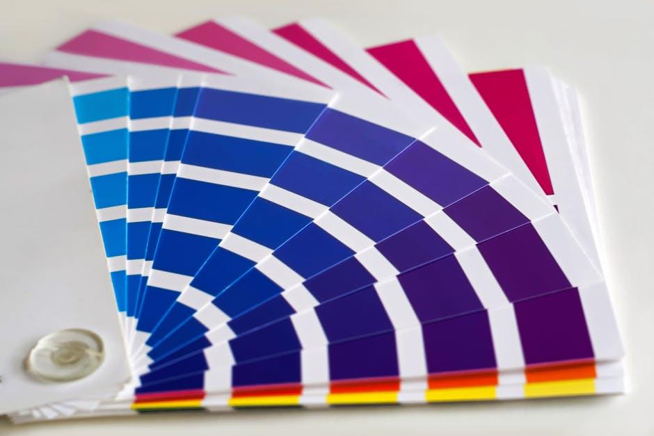 farby z mieszalnika - wzornik