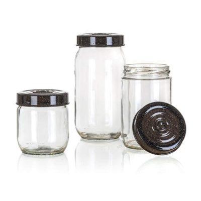 szklane pojemniki - prezent świąteczny